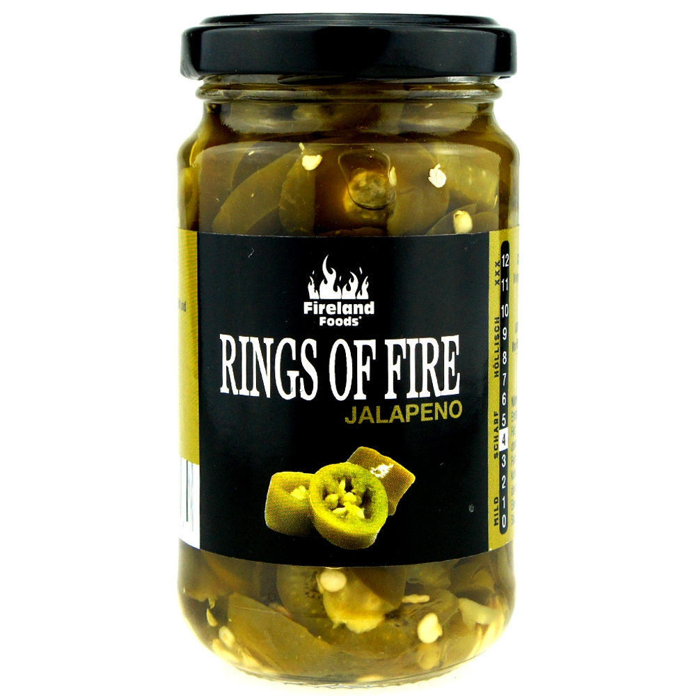Rings Of Fire - Jalapeno, 200g